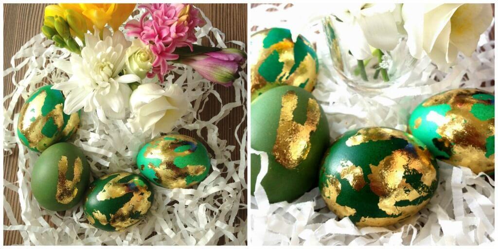 Kiaušinių dekoravimas folija